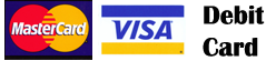 Visa, master card, debit